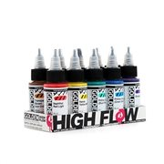 Acrílicos High Flow 30ml - Set 10 colores
