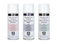 Acrylic Aerosol Varnish 400ml